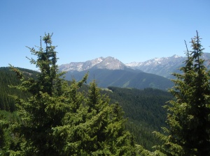 Picture of the Elk Mountains