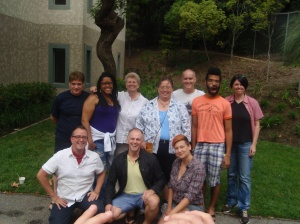 Picture of the members of the 2011 Genre Fiction Class